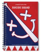 No680 My Suicide Squad Minimal Movie Poster Spiral Notebook