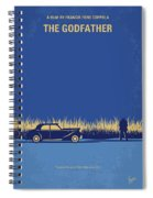 No686-1 My Godfather I Minimal Movie Poster Spiral Notebook