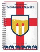 No741 My Grimsby Minimal Movie Poster Spiral Notebook