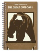 No824 My The Great Outdoors Minimal Movie Poster Spiral Notebook