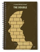 No936 My The Double Minimal Movie Poster Spiral Notebook