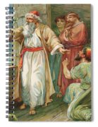 Noah And The Dove  Spiral Notebook