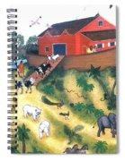Noah's Ark One Spiral Notebook