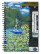 Noble Cottage At The Lake Spiral Notebook