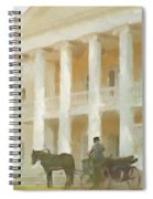 Noble Mansion Of The 19th Century In Russia Spiral Notebook