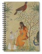 Noble Woman In A Garden Spiral Notebook