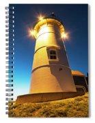 Nobska Light Falmouth Ma Cape Cod Window Shadow Spiral Notebook
