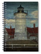 Nobska Lighthouse 2 Spiral Notebook