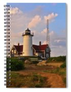 Nobska Lighthouse Spiral Notebook