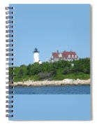 Nobska Point Lighthouse Spiral Notebook