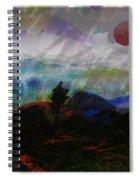 Noche Equatorial  Spiral Notebook