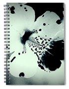 Nocturnal Pansies  Spiral Notebook