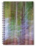 Noland Creek Abstract 1 Spiral Notebook