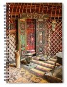 Nomad Yurt Spiral Notebook