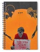 Non Omnia Possunt Omnes Spiral Notebook