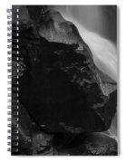 Nooksack River Falls Spiral Notebook