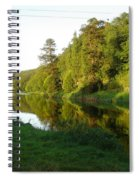 Nore Reflections I Spiral Notebook