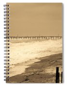 Nor'easter At Nags Head Spiral Notebook