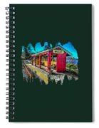 Norm Laknes Train Station Spiral Notebook