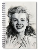 Norma Jean Painting Spiral Notebook