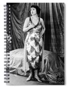 Norma Talmadge Spiral Notebook