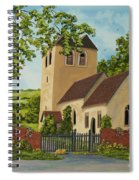 Norman Church In Fingest Spiral Notebook