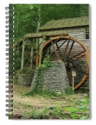 Rice Grist Mill II Spiral Notebook