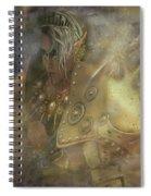 Norse Warrior Spiral Notebook