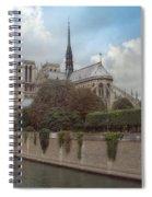 Norte Dame De Paris Spiral Notebook