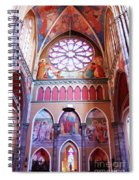North Aisle - Sanctuary In Osijek Cathedral Spiral Notebook