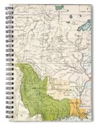North American Indian Tribes, 1833 Spiral Notebook