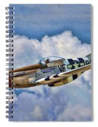 North American P-51 Mustang  Spiral Notebook