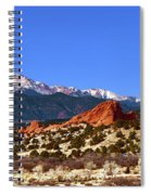 North And South Gateway Rock Spiral Notebook