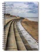 North Beach Heacham Norfolk Spiral Notebook