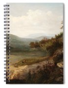 North Carolina Mountain Landscape Spiral Notebook