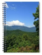 North Carolina Mountains In The Summer Spiral Notebook