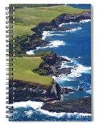 North Coast Of Maui Spiral Notebook