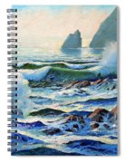 North Coast Surf Spiral Notebook