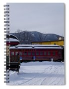 North Conway Nh Scenic Railroad Spiral Notebook