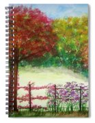 North Fence Spiral Notebook