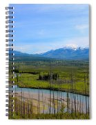 North Fork Flathead River Spiral Notebook