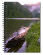 North Fork Of The Clearwater Spiral Notebook