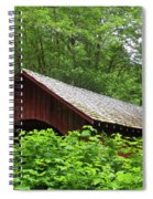 North Fork Yachats Bridge 1 Spiral Notebook