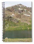North Halfmoon Lake 2 Spiral Notebook