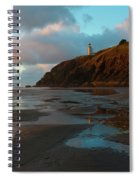 North Head Light Reflections Spiral Notebook
