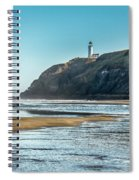 North Head Lighthouse With The Morning Light Spiral Notebook
