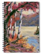 North Lake By Prankearts Spiral Notebook