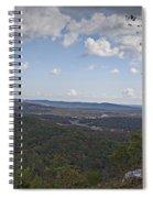 North Mountain Overlook  Spiral Notebook