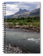 North Of Dubois Wy Spiral Notebook