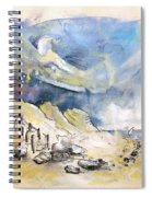 North Of France 03 - The Coast Spiral Notebook